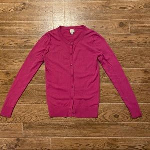 A New Day pink button up cardigan